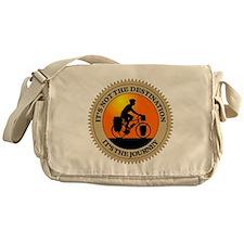 Its The Journey Messenger Bag