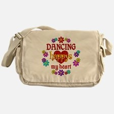 Dancing Happy Messenger Bag