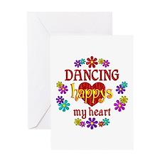 Dancing Happy Greeting Card