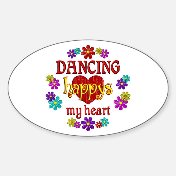 Dancing Happy Decal
