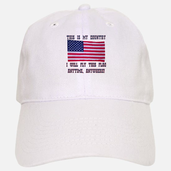 Flag2 Baseball Baseball Cap
