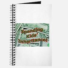 Spending Kids' Inheritance! Journal