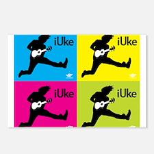 iUke x4 Postcards (Package of 8)