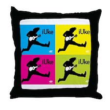 iUke x4 Throw Pillow