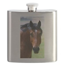 Horse portrait 2 Flask