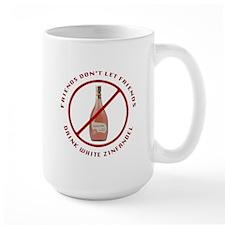 No White Zin Mug