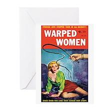 """Greeting (10)-""""Warped Women"""""""