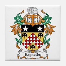 Raynolds Coat of Arms Tile Coaster