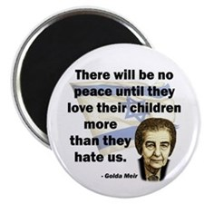 "There will be no peace 2.25"" Magnet (100 pack)"