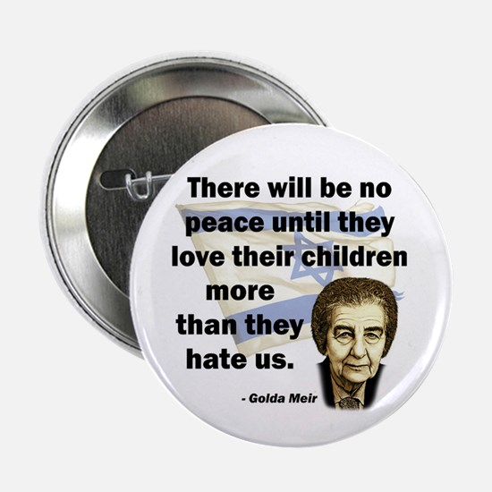 "There will be no peace 2.25"" Button (10 pack)"