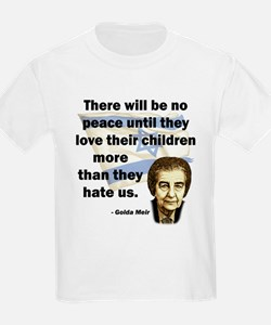 There will be no peace Kids T-Shirt