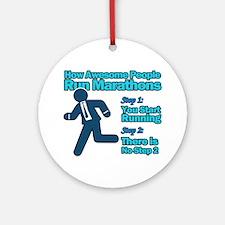 Marathons Ornament (Round)