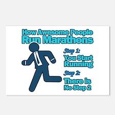 Marathons Postcards (Package of 8)