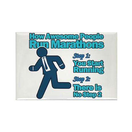 Marathons Rectangle Magnet (100 pack)