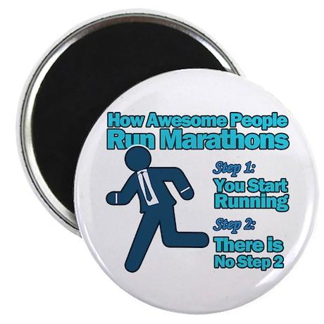 "Marathons 2.25"" Magnet (100 pack)"