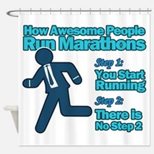 Marathons Shower Curtain
