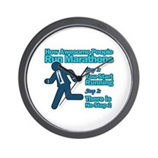 Marathons Wall Clock