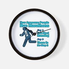 Marathons Wall Clock