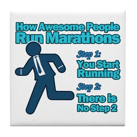 Marathons Tile Coaster
