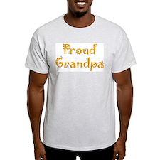 Proud Grandpa Ash Grey T-Shirt