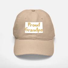 Proud Grandpa Baseball Baseball Cap