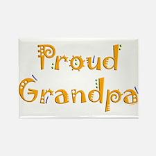 Proud Grandpa Rectangle Magnet