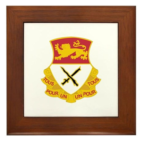 DUI - 5th Squadron - 15th Cavalry Regiment Framed