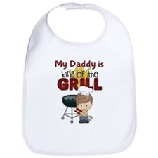 My Daddy is King of the Grill Bib