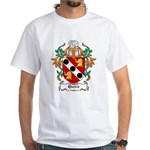 Quelch Coat of Arms White T-Shirt