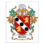 Quelch Coat of Arms Small Poster