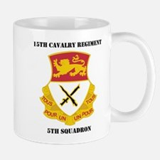 DUI - 5th Squadron - 15th Cav Regiment with Text M