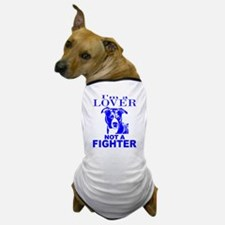 PIT BULL LOVER NOT A FIGHTER Dog T-Shirt