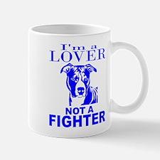 PIT BULL LOVER NOT A FIGHTER Mug