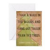 Thoreau Greeting Cards (20 Pack)
