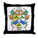 Pyke Coat of Arms Throw Pillow