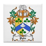 Pyke Coat of Arms Tile Coaster
