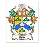 Pyke Coat of Arms Small Poster