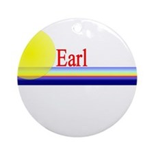 Earl Ornament (Round)