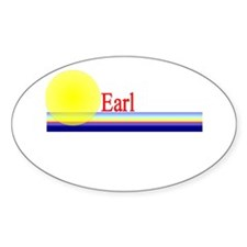 Earl Oval Decal