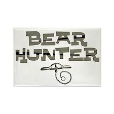 Bear Hunter Rectangle Magnet