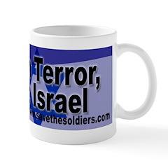 Condemn Terror, Support Israel Mug