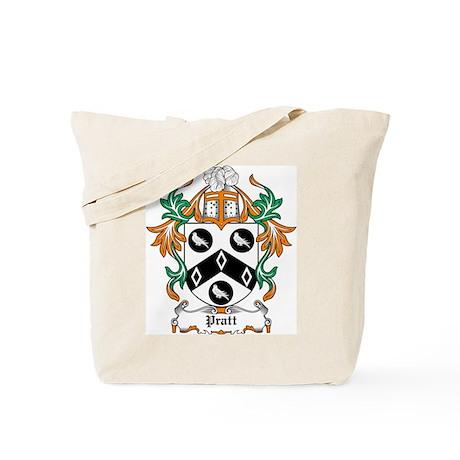 Pratt Coat of Arms Tote Bag