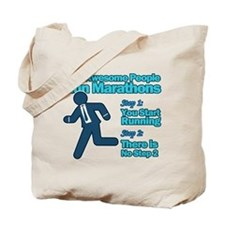 Marathons Tote Bag