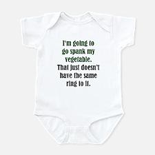 Spank My Vegetable Infant Creeper