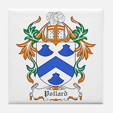 Pollard Coat of Arms Tile Coaster
