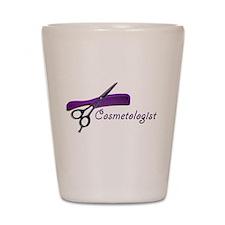 cosmetologist Shot Glass