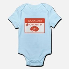 Bookkeeper Powered by Doughnuts Infant Bodysuit
