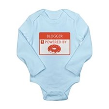 Blogger Powered by Doughnuts Long Sleeve Infant Bo