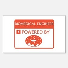 Biomedical Engineer Powered by Doughnuts Decal