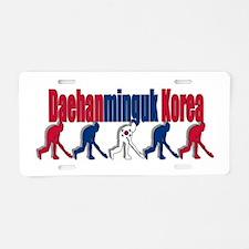 Korea Field Hockey Aluminum License Plate